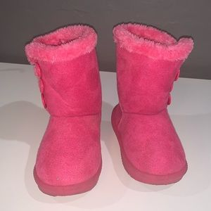 Other - Pink Little Girls Boots Size 9
